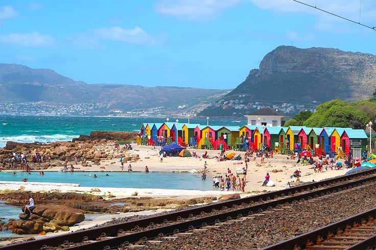 things you must do in cape town south africa - St. James beach Cape Town