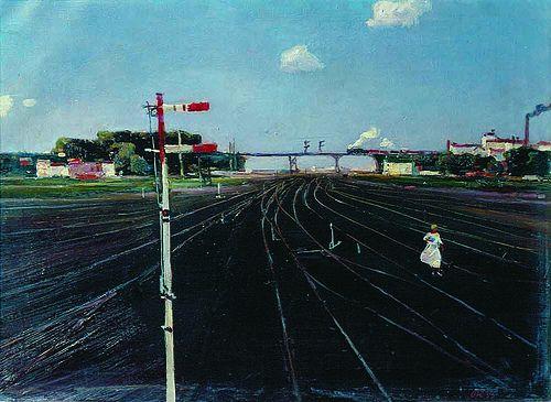 Georgy Nissky- On the Tracks   por Art Images Directory