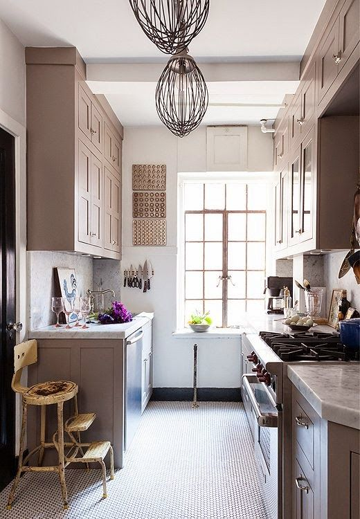 michelle smith's kitchen - farrow and ball charleston gray