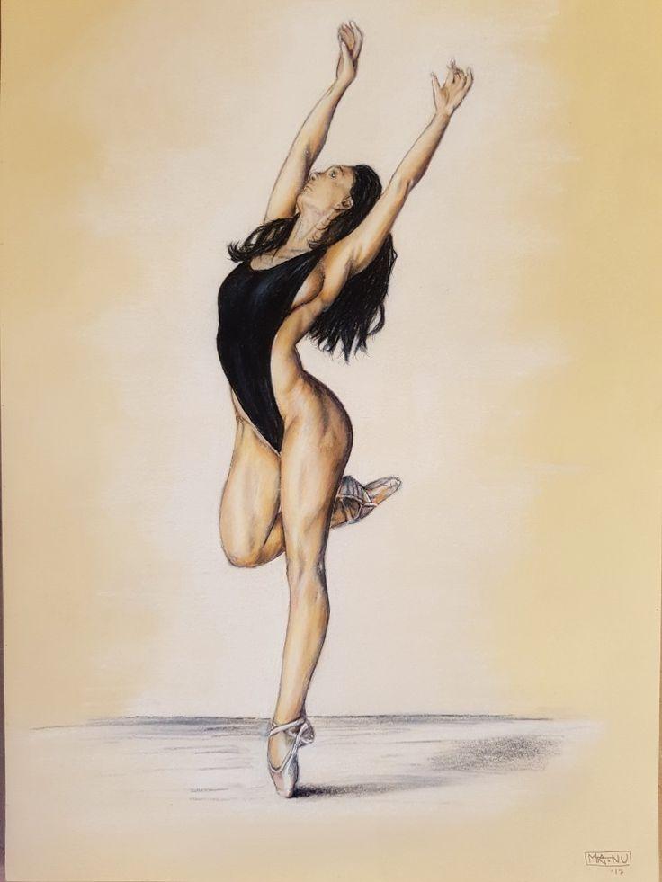 Disegno con matite colorate #sketch #pencildrawing  #Dancer  #girl