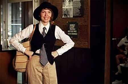 pretty much everything diane keaton wears in annie hall is pure genius and inspiration. and most of her outfits in the movie were hers!