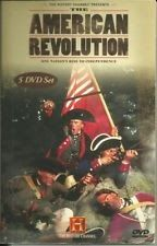 The History Channel Presents The American Revolution 5 DVD Set