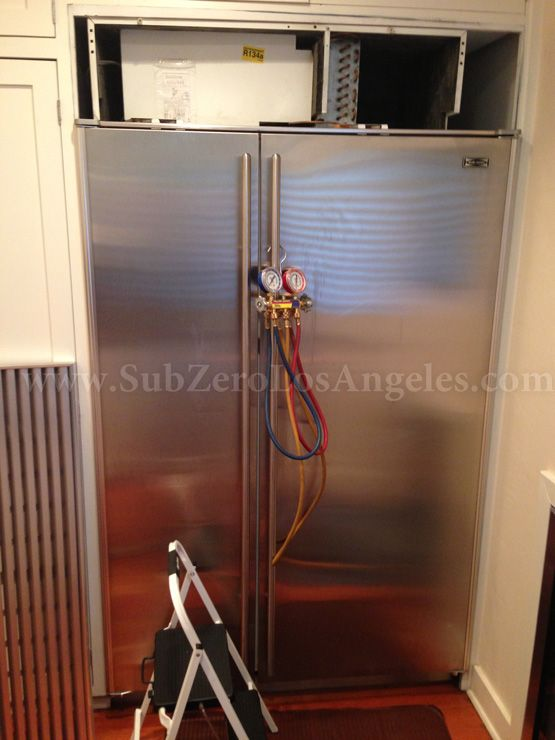 Serviced And Repaired This Week: Sub Zero 642 Model, Ice Maker Repair,