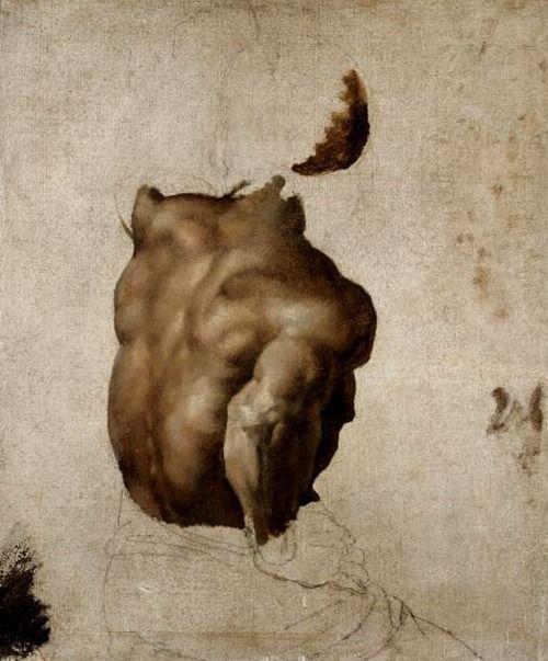 Théodore Géricault (1791–1824) - Etude pour le Radeau de la Meduse, vers 1818