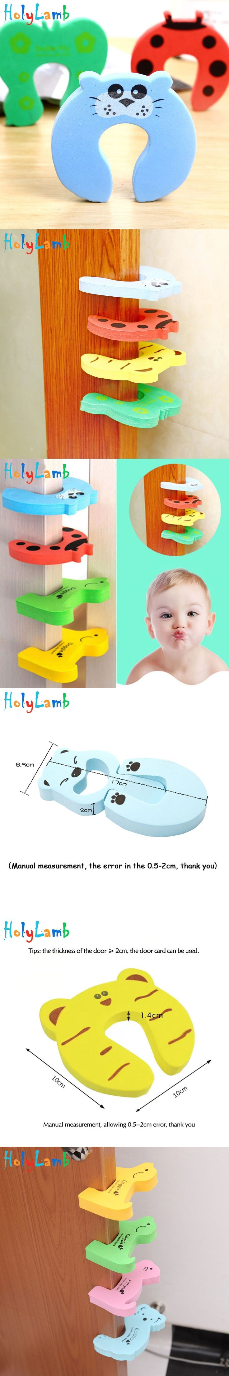 Best 25 door stopper ideas on pinterest cat pattern diy door 2018 cute animal protection baby safety security card door stopper baby newborn care lock protection from rubansaba