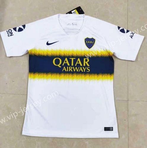 info for 90362 8983d 2018-19 Boca Juniors Away White Thailand Soccer Jersey AAA ...