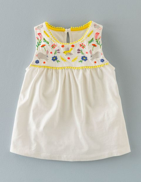 Field Friends Embroidered Top 31000 Clothing at Boden