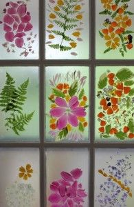 50 best glass painting images on pinterest old windows recycled flower petal stained glass window craft no how to but it looks like paper planetlyrics Gallery