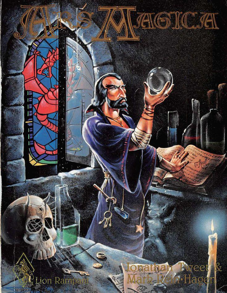Ars Magica Second Edition Core Rulebook - Atlas Games   DriveThruRPG.com