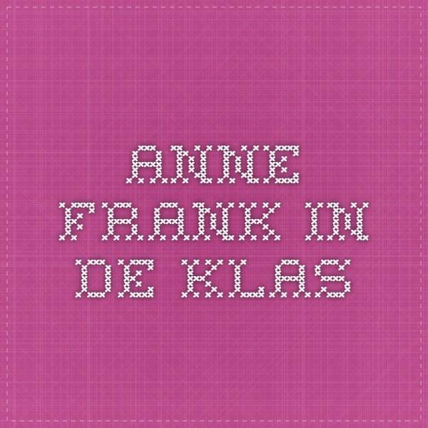 Anne Frank in de klas