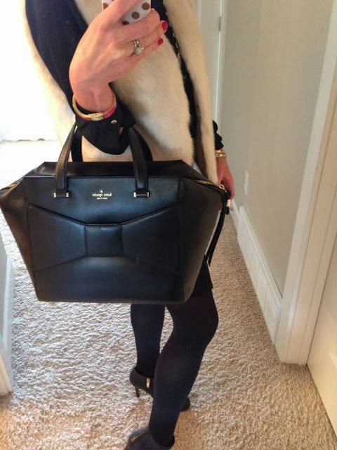 Southern Charm I need this as my everyday black bag for spring!