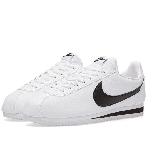 Nike Classic Cortez Leather (White & Black)