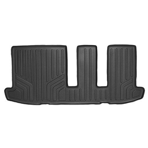 MAXFLOORMAT Floor Mats for Nissan Pathfinder (2013-2017) / Infiniti JX35 and QX60 (2014-2017) Third Row (Black) %SALE% #carscampus