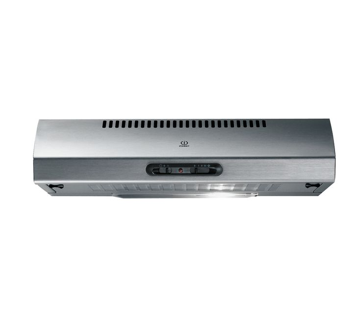 indesit h1612ix integrated cooker hood stainless steel