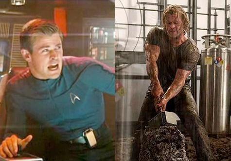 12 Extreme Celebrity Fitness Transformations - Chris Hemsworth