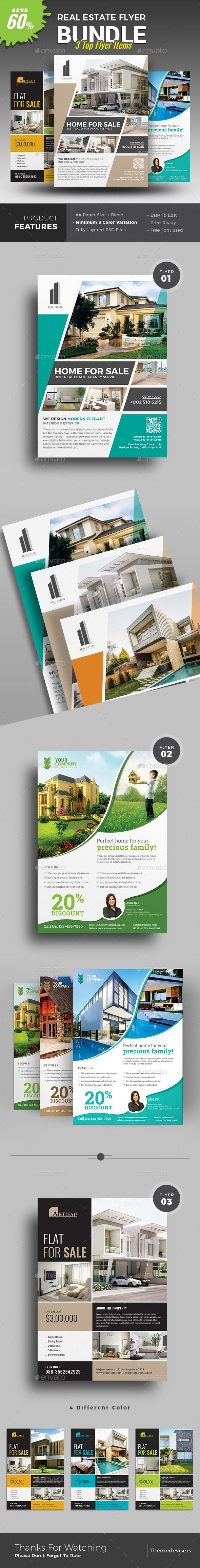 House for sale real estate flyer amp ad template word amp publisher - Real Estate Flyer