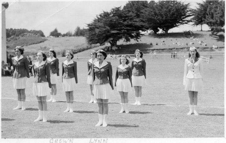 Crown Lynn marching team