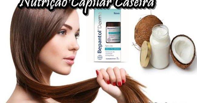 Nutrição Capilar com Óleo de Coco e Bepantol - Passo a Passo http://www.aprendizdecabeleireira.com/2016/05/nutricao-capilar-oleo-coco-bepantol-liquido.html
