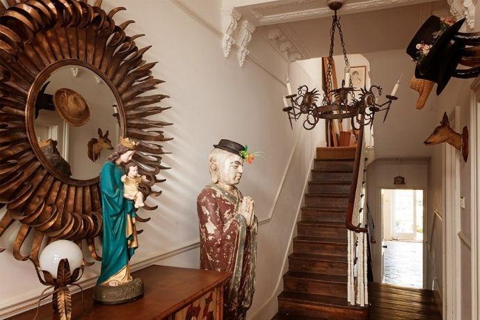 Эклектичный дизайн интерьера дома в Лондоне - Дизайн интерьеров   Идеи вашего…