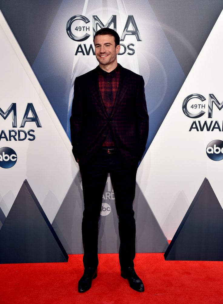 TAULUKOS Red Carpet Deals — Sam Hunt Brings His Sexy Smirk to the Red Carpet:...