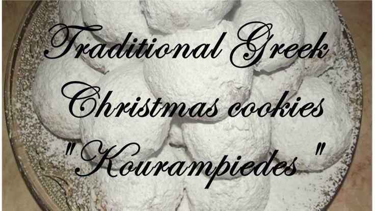 Traditional Greek Kourampiedes/Παραδοσιακοί Κουραμπιέδες