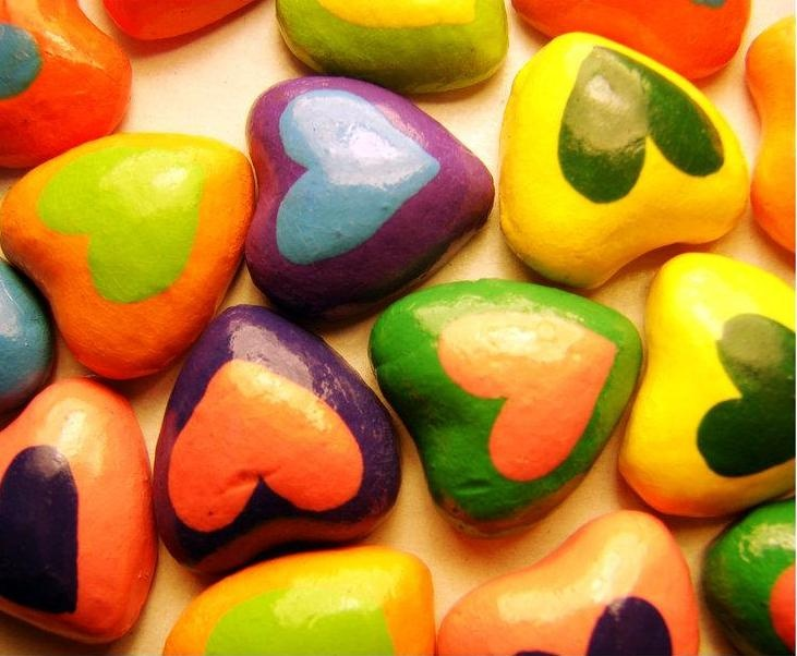 Heart with colors