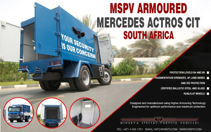 Cash in Transit CIT Vehicles SOUTH AFRICA