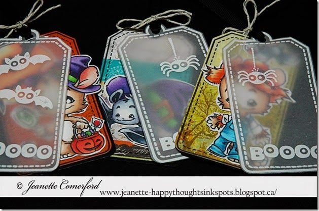 Happy Thoughts & Inkspots: Whiff of Joy Halloween Tags