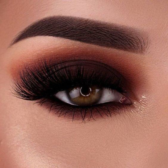35 Trendy Smokey Eye Makeup Looks for Beginners 2019 – Page 3 of 4 – Style O Che…