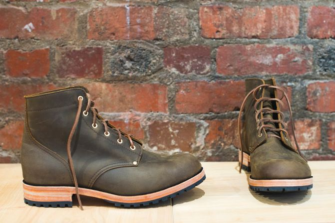 We're just about to start testing our new two piece rubber commando sole we have made in Christchurch, New Zealand.
