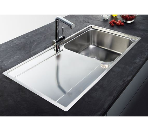 franke maris slimtop propack mrx 211 stainless steel sink and tap