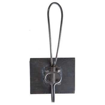 Black Single Retro Iron Wall Hook ($3 on sale) at Hobby Lobby