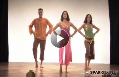 16-Minute Bollywood Cardio Workout Video