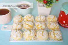 Limonlu Çatlak Kurabiye Tarifi | Kevserin Mutfağı - Yemek Tarifleri
