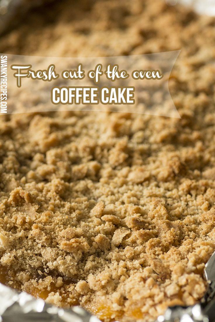 Homemade Peach Coffee Cake - Swanky Recipes