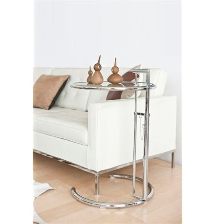 Replica Eileen Gray Adjustable Cigarette Table - Deluxe Version main image