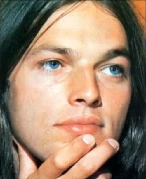 David Gilmour of Pink Floyd, England, United Kingdom, 1970, photographer unknown.