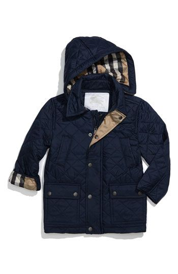 Burberry Quilted Jacket- Toddler Boy