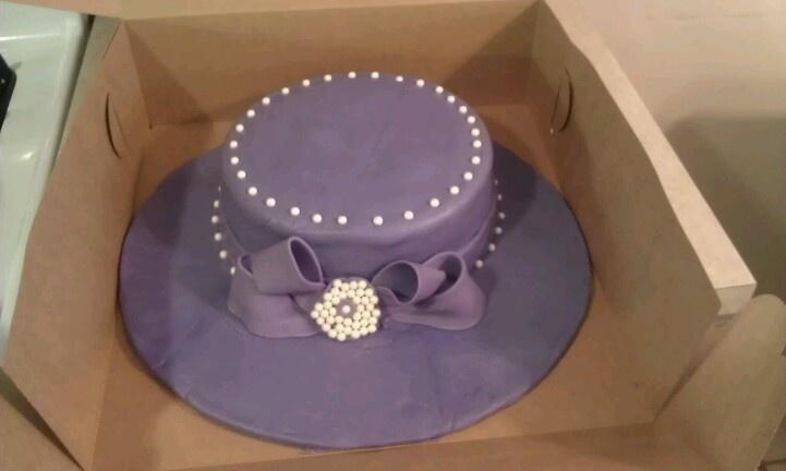 Church Hat Cake My Cakes Pinterest Church Hat Cake