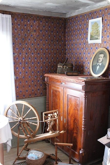 The family farm, late 1800's interior, Sweden