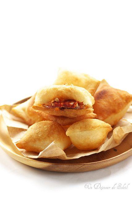 Gnocco fritto, pâte à pain frite typique de l'Emilie Romagne (pour 4 personnes) - Italian street food