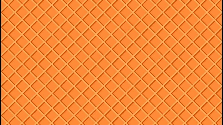 Waffle texture - Adobe Illustrator tutorial. How to create simple ice cr...