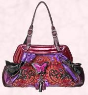 Bag from House of Fraser -Multi-coloured 'Butterfly' bag £310 Bracher Emden.