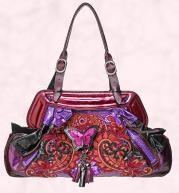 Bag from House of Fraser -Multi-coloured 'Butterfly' bag £310 Bracher Emden.
