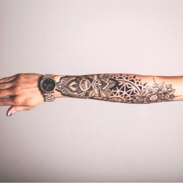 Machette love tattoo