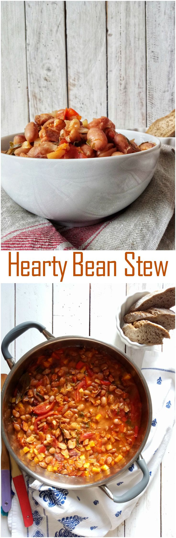 Hearty Bean Stew Recipe #comfortfood