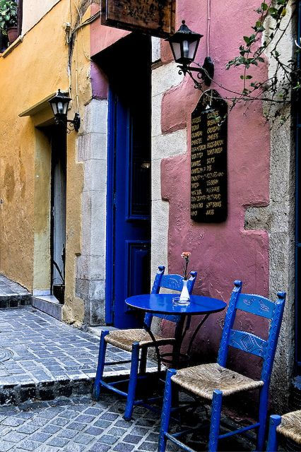 Chania, Crete, Greece  We have authentic #Greek #cookies and #oliveoil available at TasteofCrete.com !