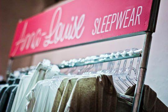 Anna Louise sleepwear
