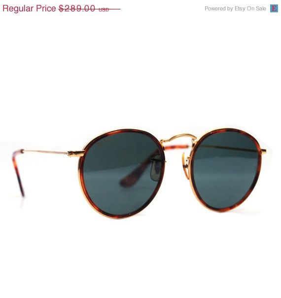 Sun Hut Sunglasses Actress: Vintage W1675 Ray Ban Sunglasses