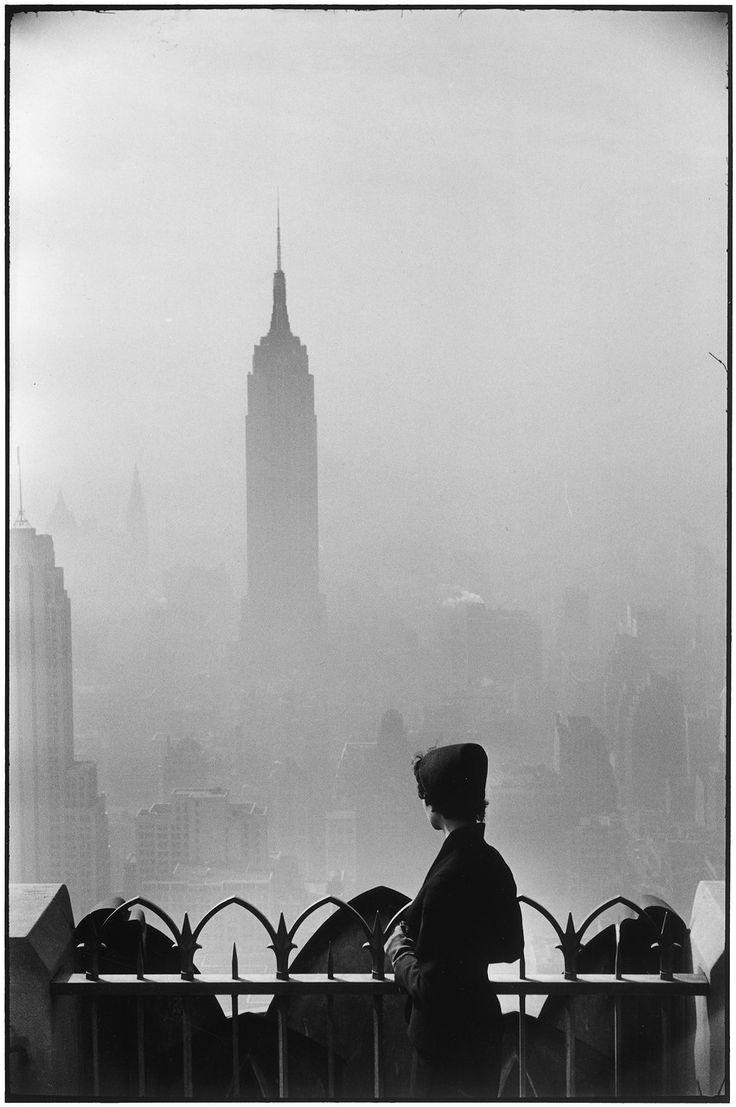 1955. Нью-Йорк. Эмпайр-стейт-билдинг